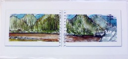 Assorted River cards, long 1