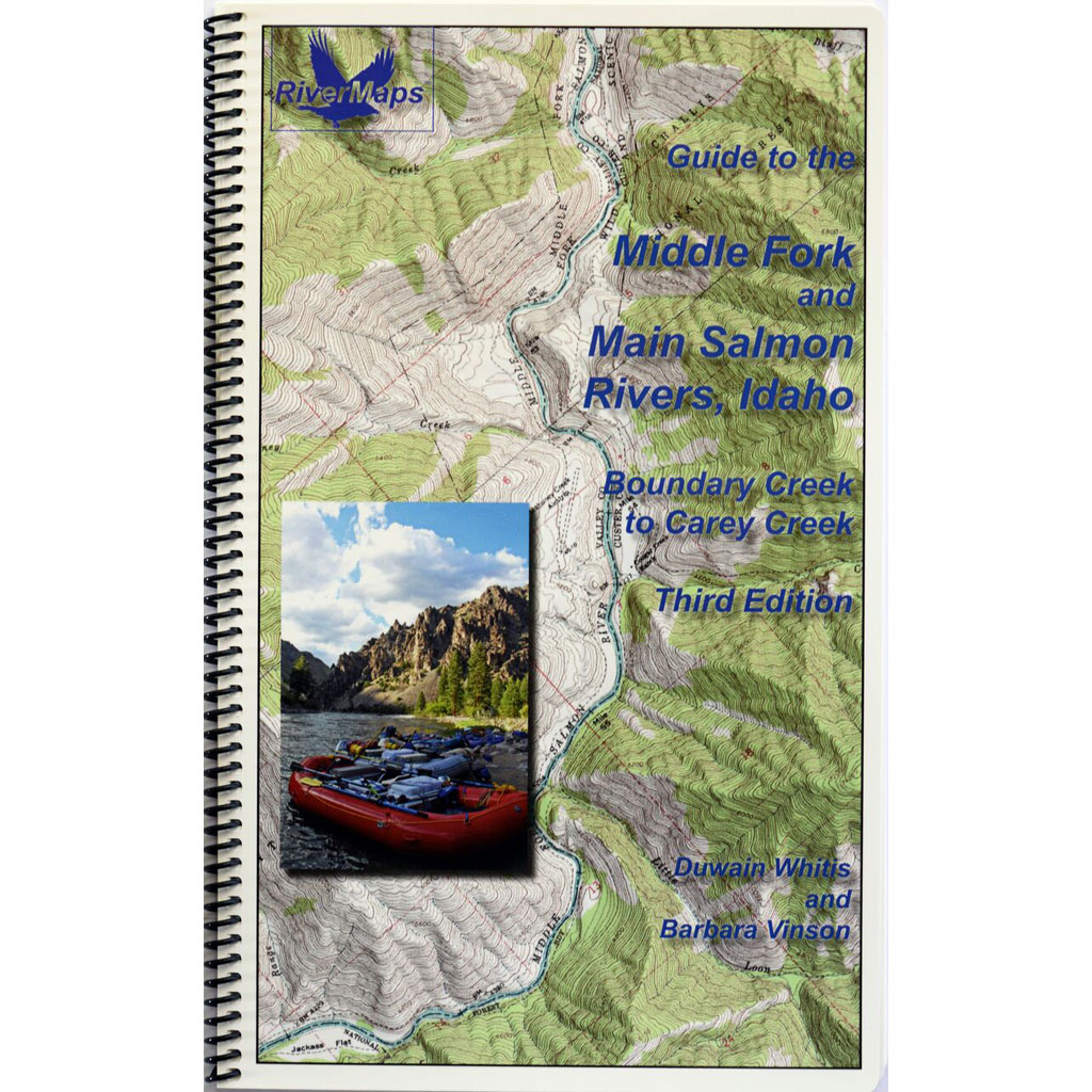 Middle Fork & Main Salmon Map, RiverMaps 1