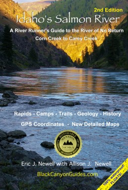 2nd Edition - Eric and Allie Newell's Idaho's Salmon River Map and Guide 1