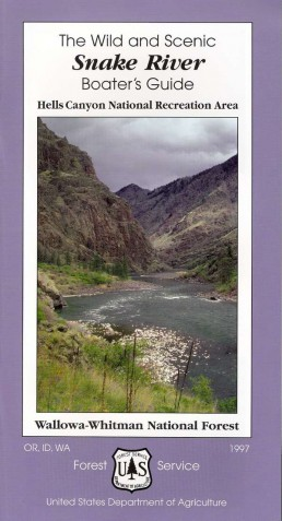 Snake River Boaters Guide 1