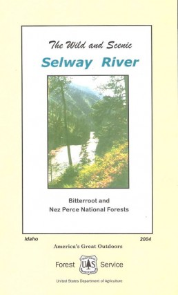 Selway River Map 1