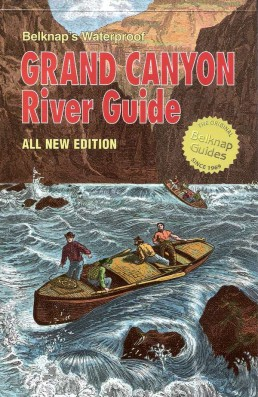 Map, Grand Canyon River Guide 1