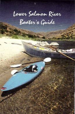Lower Salmon Boater's Guide W/P Map, Forest Service 1